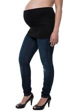New Maternity Belly Band Pregnancy everyday black basic size Xs by Lilimai