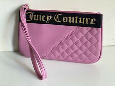 NEW! JUICY COUTURE ROAD RIDER POSEY PINK WALLET CLUTCH POUCH WRISTLET BAG $49