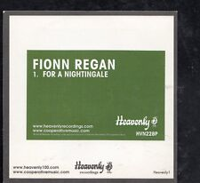 FIONN REGAN For A Nightingale 1 tr SILVER PROMO CD SINGLE HEAVENLY1