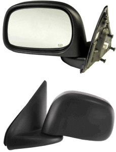 Powered Side View Door Mirror Assembly LEFT Replace Dodge OEM # 55077440AE RAM