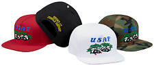 SUPREME SS17 Pandas 5-Panel Woodland Camo Camp Cap Baseball Hat Authentic New