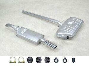 IMASAF Auspuff Set NEU für VW Corrado 1.8 G60 PG 118KW MSD + ESD + Anbaut