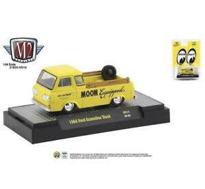 M2 Machines 1:64 Hobby Exclusive 1964 Ford Econoline Truck Mooneyes Edition