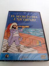 "DVD ""TINTIN EL SECRETO DEL UNICORNIO"" PRECINTADO SEALED HERGE LAS AVENTURAS DE"
