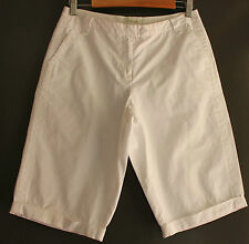 Mid-Rise Regular Size Khaki, Chino Shorts for Women