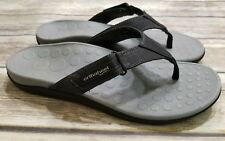 e556b66f0d33 Orthaheel Ryder Black Adjustable Flip Flop Sandals Mens Shoes Size 10 EU 43