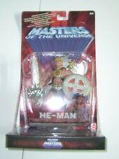 200X Motu Modern Masters of the Universe He-Man Mattel Moc + Vhs Tape Greek