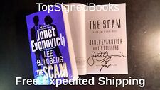 SIGNED Fox and O'Hare The Scam by Janet Evanovich Lee Goldberg, autographed new
