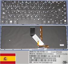 Détails sur  Clavier Qwerty Espagnol ACER Aspire V5-431 V5-471 V5-471G NSK-R2HB