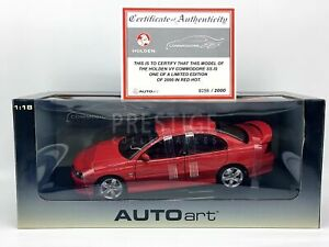 AUTOart Holden VY Commodore SS in Red Hot 1:18 Scale Model Car - New