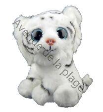 Peluche bébé Tigre blanc très douce au touché, doudous pas cher, jouet, neuf
