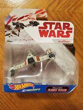 Hot Wheels Starships POE'S SKI SPEEDER Star Wars The Last Jedi New Free Shipping