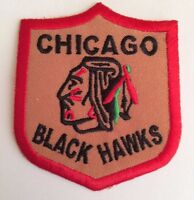 "Chicago Blackhawks Vintage Embroidered Iron On Patch Awesome  Patch 3"" x 2.5 NHL"