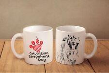 """Cavalier King Charles Spaniel - ceramic cup, mug """"I love"""", Ca"""