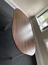 More details for boardroom table (barrel shape) 240 x 120 cm