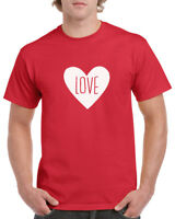 LOVE T Shirt Tee Valentines Day T-Shirt Anniversary Wedding Gift Idea Marriage