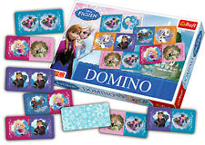 Trefl Kids Domino Game Disney Frozen Girls Picture Matching Educational Puzzle