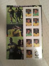Panini 2010 South Africa World Cup ESPECIAL SELECAO 9 Brasil Update Stickers NEW