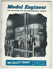 Model Engineer January 1956 Vol.114 No.2850 Percival Marshall & Co Ltd Good