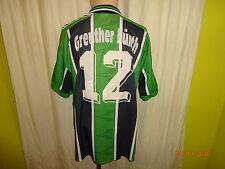 """SpVgg Greuther Fürth Puma Matchworn Trikot 1996/97 """"Dobler"""" + Nr.12 Gr.L"""