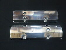 VALVE COVERS SET FABRICATED ALUMINIUM SMALL BLOCK CHEV