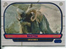 Star Wars Galactic Files Blue Parallel #308 Bantha