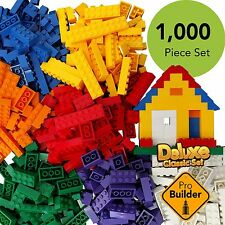 New 1000 Pieces of Building Bricks Bulk Block Compatible with Major BRANDS
