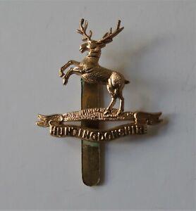 Huntingdonshire Cyclist Battalion Cap Badge