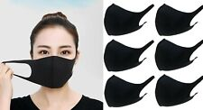 Unisex Pack of 6 Washable Breathable Reusable Mouth Protection Face Covering