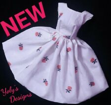 Silkstone Barbie Dress Reproduction Vintage Doll Clothes OOAK Handmade NEW USA