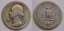 1940 S Washington Quarter Fine F