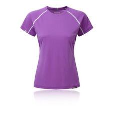 Maglie e top da donna t-shirt viola per palestra, fitness, corsa e yoga