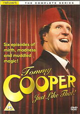 Tommy Cooper JUST LIKE THAT! - Complete Series. Tommy Cooper.1978 (DVD 2008)