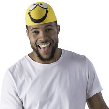 Adulto Smiley Giallo Cappello Di Dress Up America
