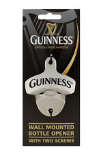 Guinness Wall Mounted Bottle Opener with Two Screws