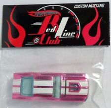 Hot Wheels REDLINE CLUB Custom Mustang PINK convention party car HTF