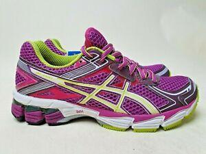 Asics Gel GT-1000 W 'Purple Lime' New (Size US6) running training Women trainer