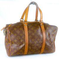 LOUIS VUITTON SAC SOUPLE 35 Old Model Boston Travel Bag Purse Monogram JUNK
