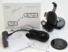 NEW Genuine HTC EVO 4G Cell Phone Car Upgrade Kit Dock Mount +Car Charger OEM