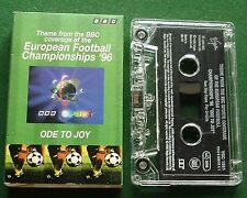 Ode to Joy BBC European Football Championship 96 Cassette Tape Single - TESTED