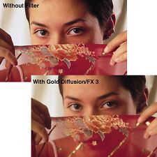 "New Tiffen 4x4"" Gold Diffusion FX 4 Glass Filter #44GDFX4"