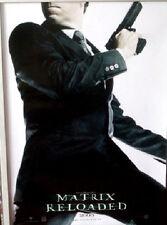Cinema Poster: MATRIX RELOADED 2003 (German - Agent Smith) Hugo Weaving