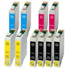 10x Tinte Patronen für EPSON STYLUS SX420W SX425W SX525WD SX620FW NX305 NX420