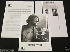 PETER TOSH 'HONORARY CITIZEN' 1997 PRESS KIT--PHOTO