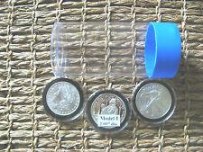 1 - Air-Tite Cap-Tube - Tite-2 Coin Holder Model-i Silver Eagle Bullion Dollar.