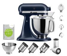 KitchenAid Artisan SET Küchenmaschine 5KSM175PS Gemüseschneider Tintenblau