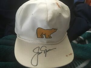 "Texace Jack Nicklaus ""The Golden Bear"" Auto snapback hat. Hand-signed Read JSA"