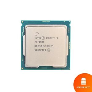INTEL CORE i9-9900 CPU PROCESSOR 8 CORE 3.10GHZ 16MB L3 CACHE 65W SRG18