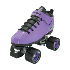 Riedell Dart roller skate quad size 6 purple men's fits 7 women's