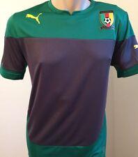 Puma Cameroon Shirt Training Jersey Gr. M Kamerun Herren Trikot Power Green Neu